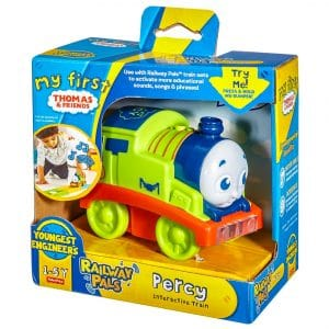 Thomas & Friends My First Railway Pals Interactive Train Percy