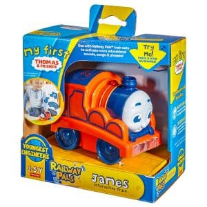 Thomas & Friends My First Railway Pals Interactive Train James
