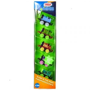 Thomas & Friends Minis Glow In The Dark 5-Pack