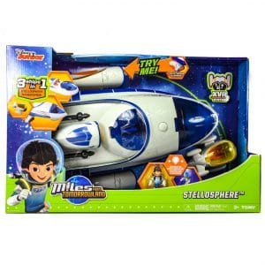 Miles From Tomorrowland 3in1 Action Figure Vehicle Transforming Stellosphere