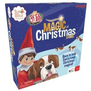 Pressman Elf On The Shelf Magic Of Christmas Memory Game