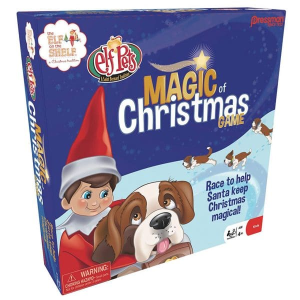 Pressman Elf On The Shelf Magic Of Christmas Memory Game