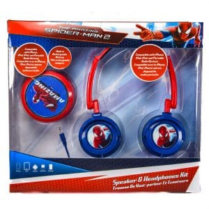 Spider-Man Speaker and Headphone Set