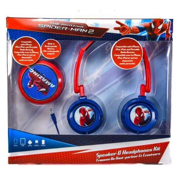 Spider-Man Speaker and Headphone Set