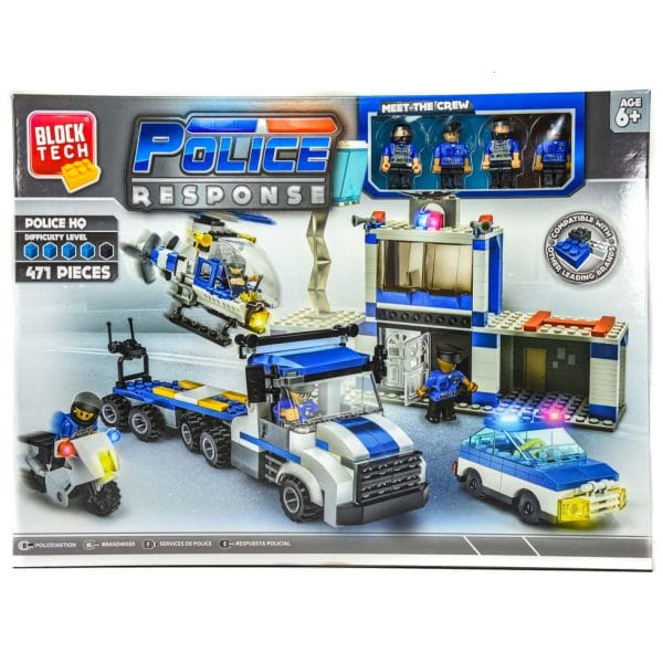 Block Tech Police Response 471 Pcs