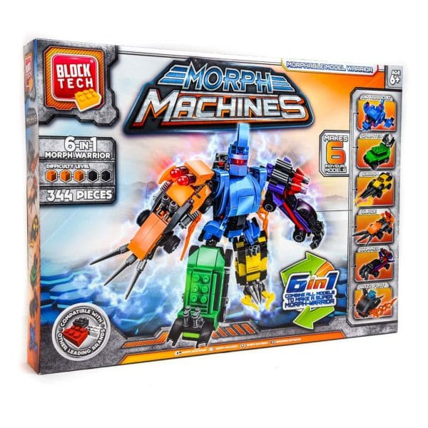 Block Tech 6-in-1 Morph Warrior 341 Pcs