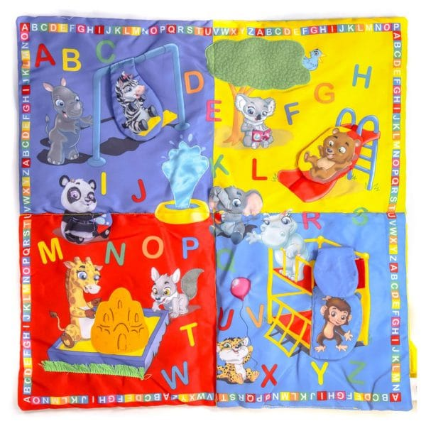 Kids Alphabet Soft Blanket