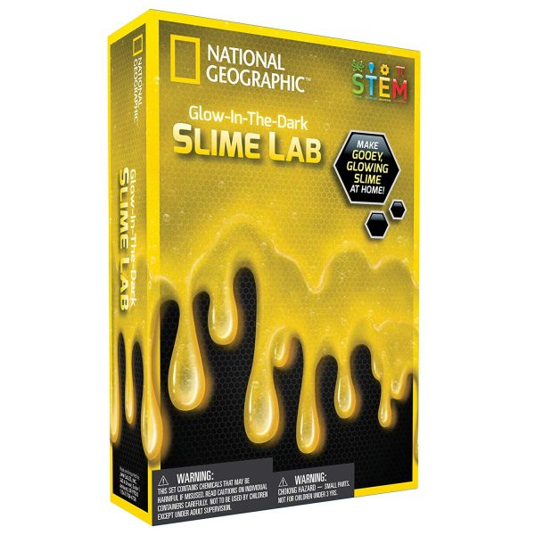 National Geographic Glow-in-the-dark Slime Lab