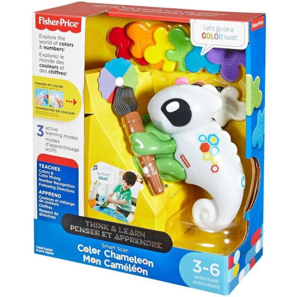 Fisher-Price Think and Learn - Smart Scan Color Chameleon