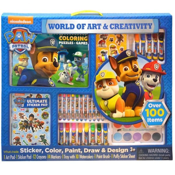 Paw Patrol World of Art and Creativity