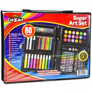 Cra-Z-Art Super Art Set (80 Pieces)