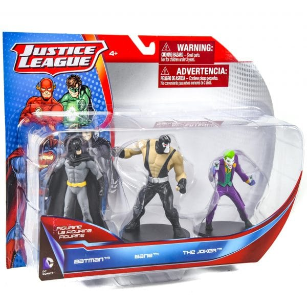 Justice League Figures 3 Pack
