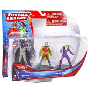 Justice League Figures 3 Pack