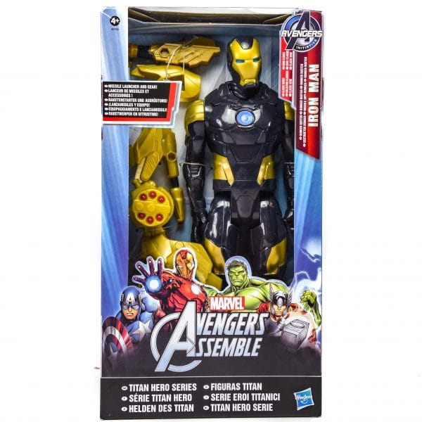 Marvel Avengers Black Ironman Figure