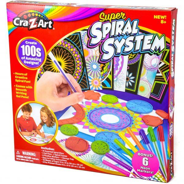 Cra-Z-Art Super Spiral System