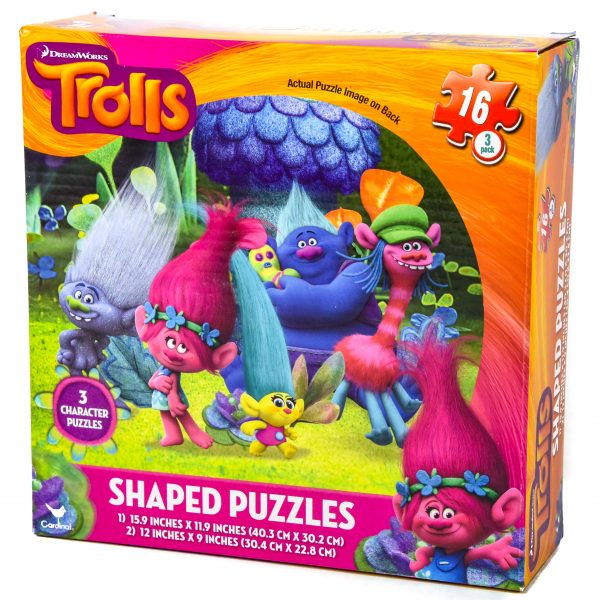 Trolls Shaped Puzzles