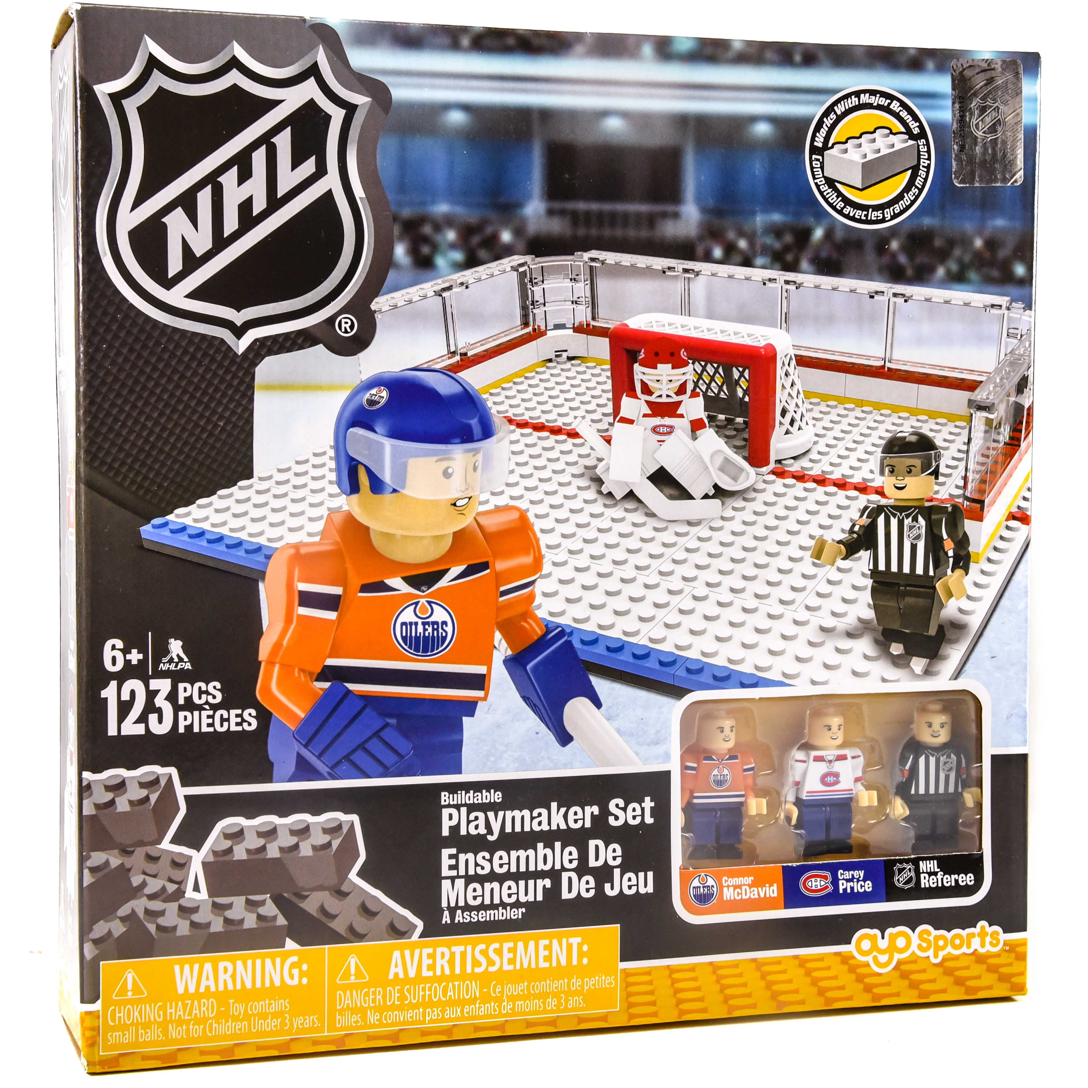 newest collection 55473 fd82e NHL Buildable Playmaker Set Connor Mcdavid Vs. Carey Price