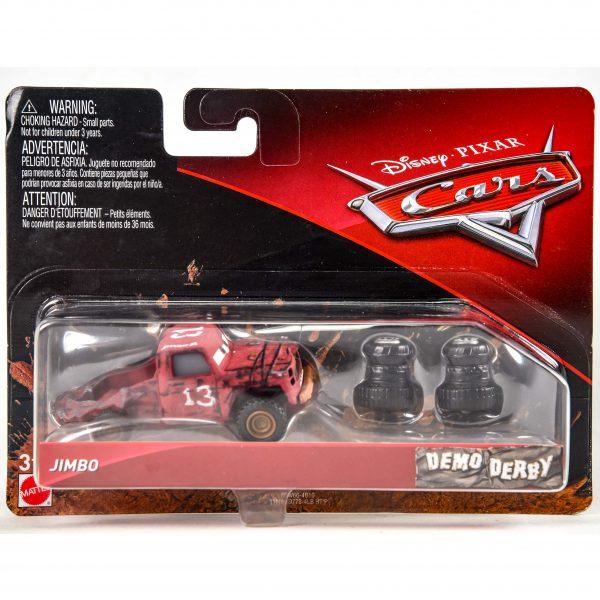 Disney Cars Demo Derby Car