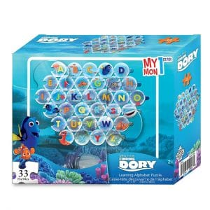 Finding Dory Learning Alphabet Puzzle