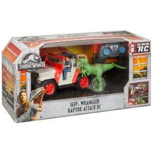 Jurassic World Jeep Wrangler Raptor Attack RC