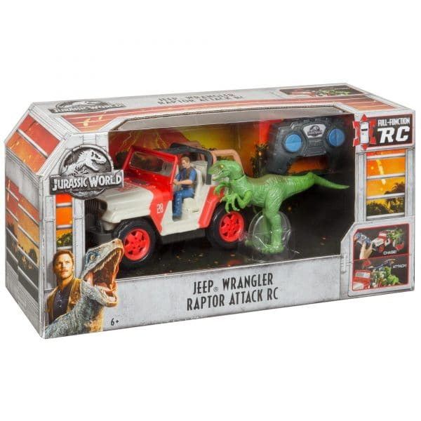 Jurassic World Jeep Wrangler Raptor Attack RC