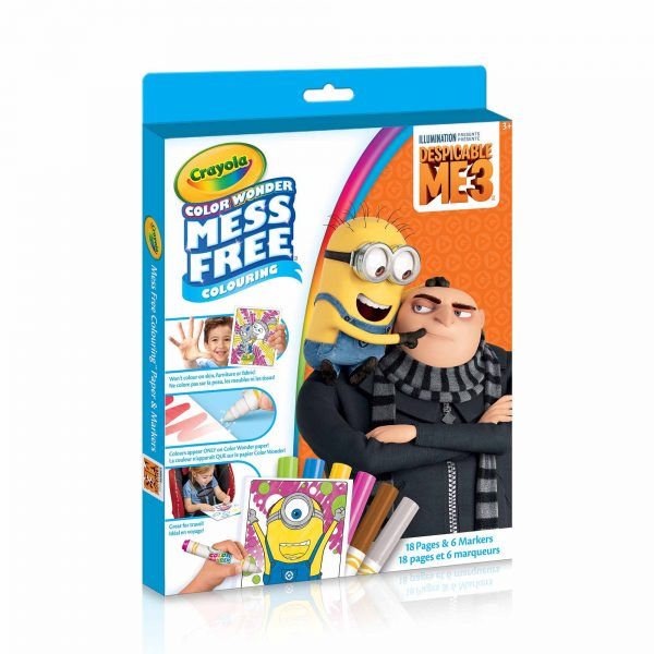 Crayola Color Works Mess Free Coloring - Despicable Me 3
