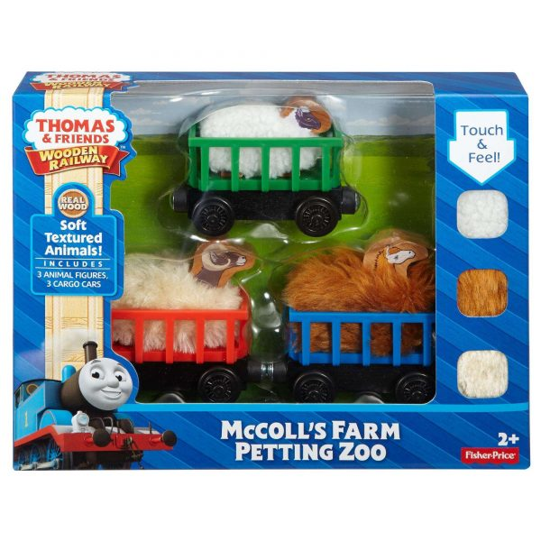Thomas & Friends Wooden Railway - McColls Farm Petting Zoo