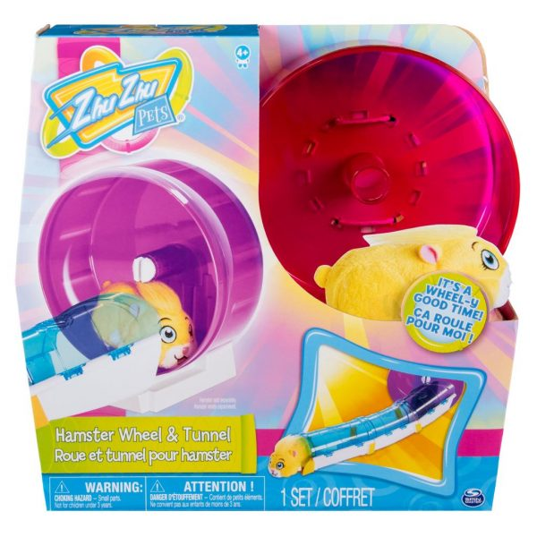 Zhu Zhu Pets Hamster Wheel & Tunnel