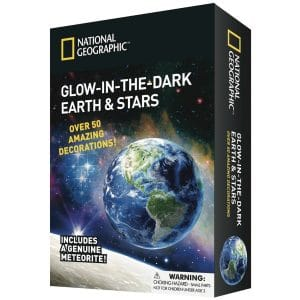 National Geographic Glow-in-the-Dark 3d Earth and Stars 50 Pieces
