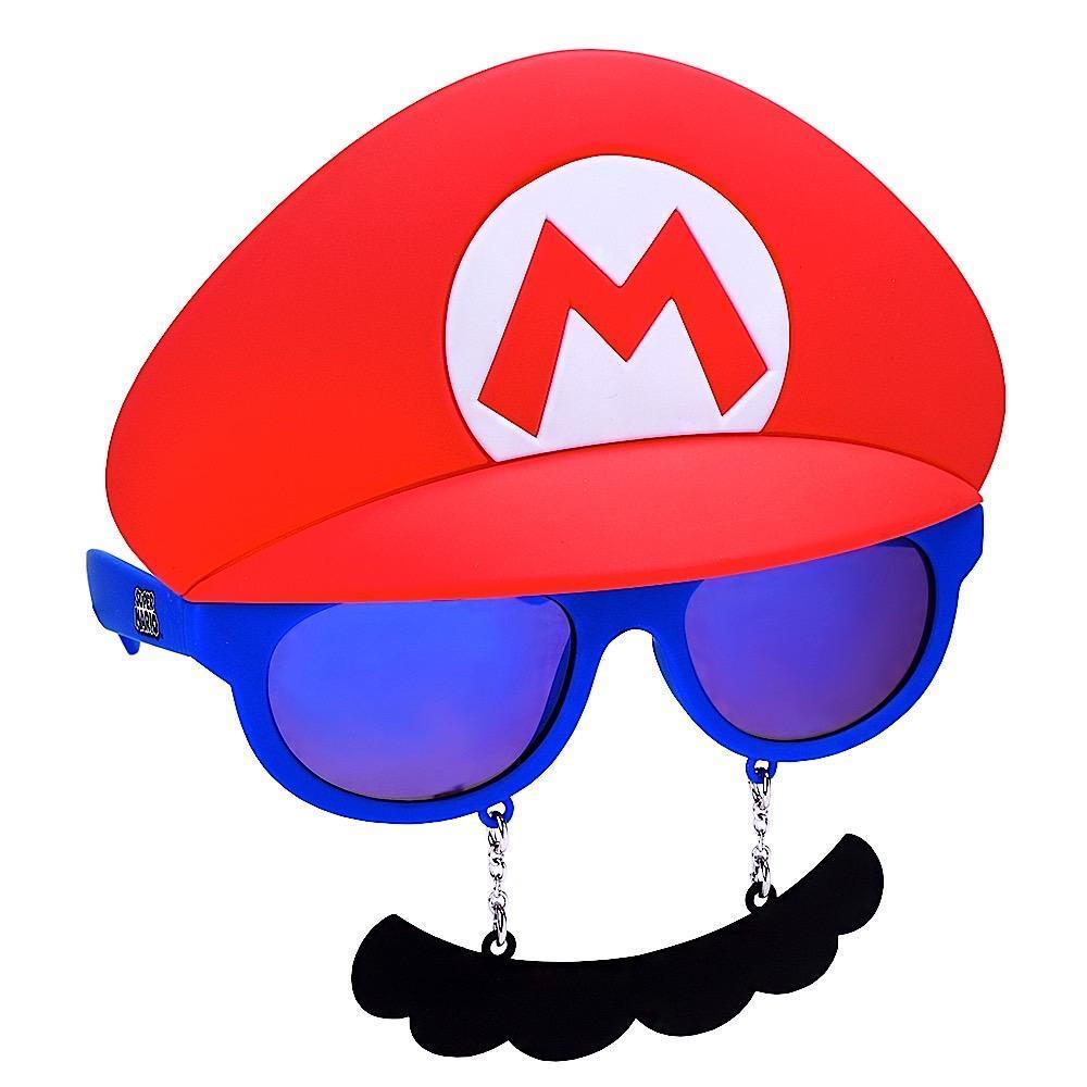 e7fd70d2b4f Super Mario Bros Mario Mustache Sunstaches Sun Shades