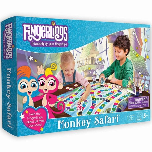 Fingerlings Monkey Safari Game