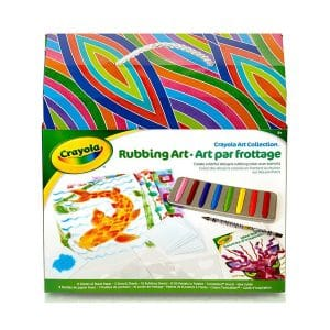Crayola Art Collection Rubbing Art