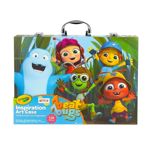 Crayola Inspiration Art Case Beat Bugs 120pcs