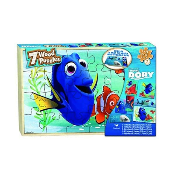 Finding Dory 7 Wood Puzzles