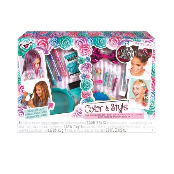 Color and Style Hair Salon Super Set