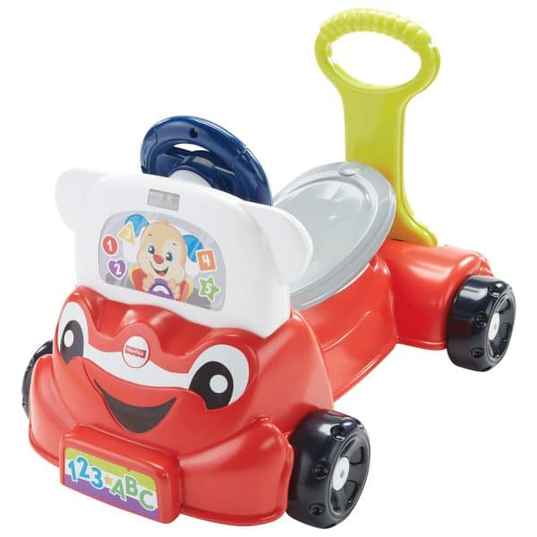 Fisher-Price Toddler Push and Sit Car
