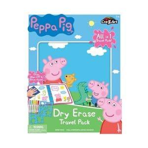 Cra Z Art Peppa Pig Dry Erase Travel Pack