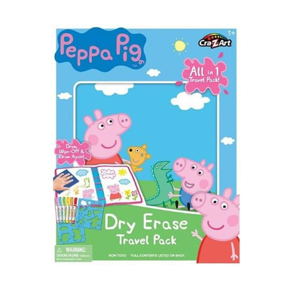 Cra Z Art Peppa Pig Dry Erase Travel Pack