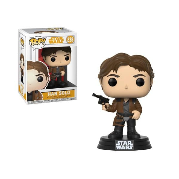 Pop Star Wars Figure Han Solo