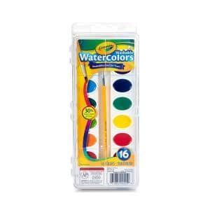 Crayola Watercolors Paint 16 Colors