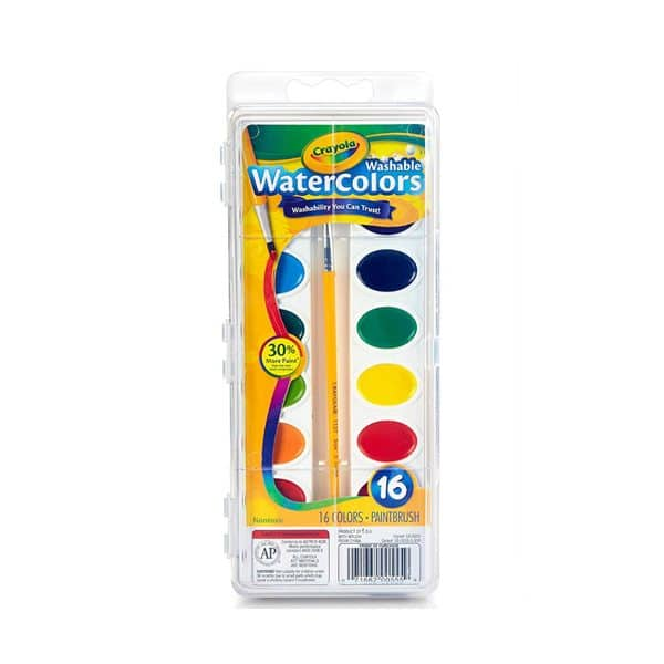 Crayola Watercolors Paint 16 Colors
