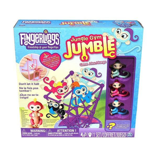 Jungles Gym Jumble Game with Monkey Figures