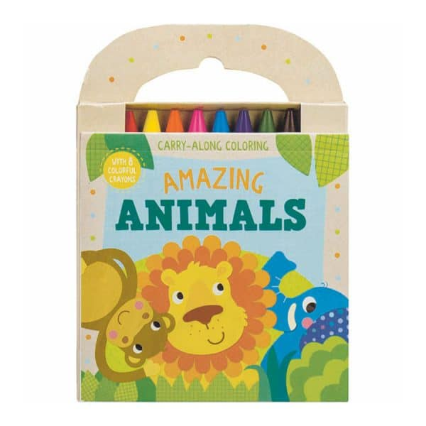Amazing Animals Carry Along Coloring Set