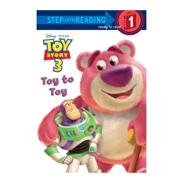 Toy Story 3 Toy to Toy Step 1 Step into Reading