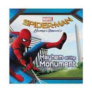 Spider Man Mayhem at the Monument Homecoming