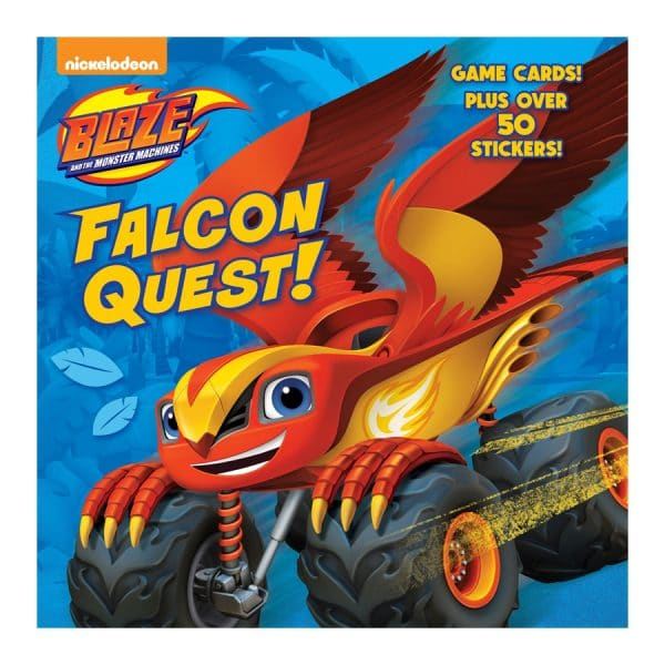 Blaze and the Monster Machines Falcon Quest!
