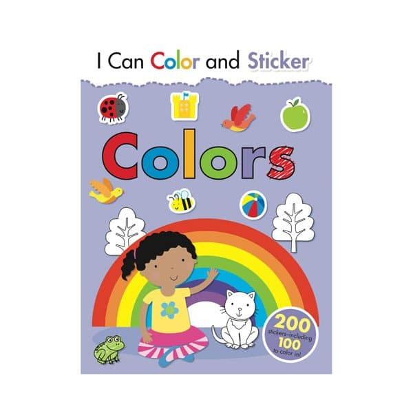 I Can Color and Sticker Colors