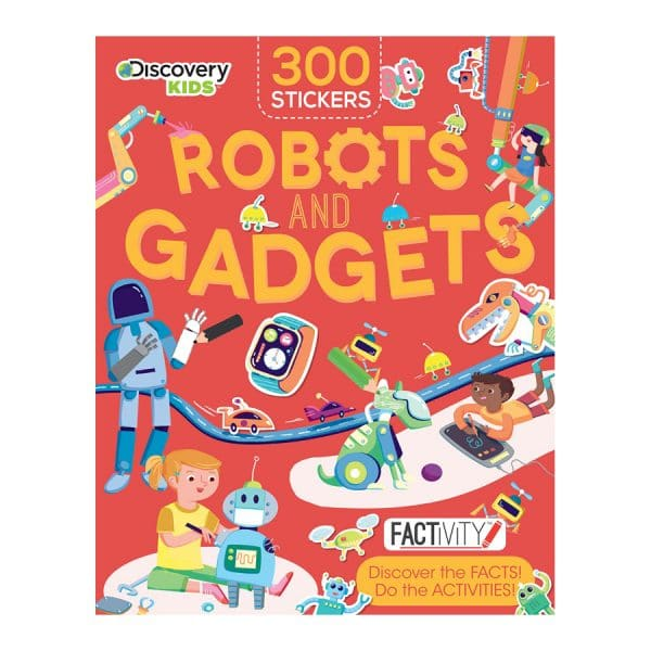 Discovery Kids Robots and Gadgets Factivity