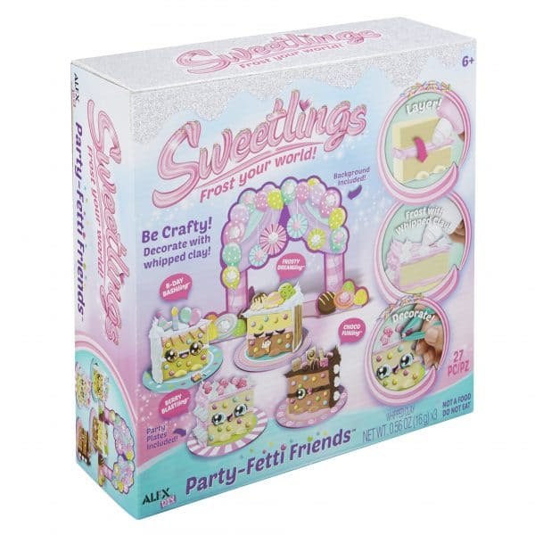 Sweetlings Frost Your World Party Fetti Friends