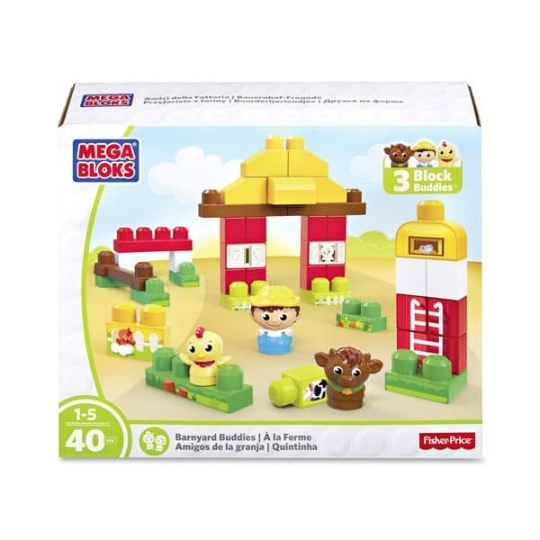 First Builders Barnyard Buddies Building Set Mega Blocks